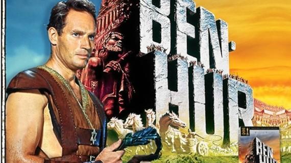 Cuando el actor de 'Ben-Hur' Charlton Heston visitó Huelva en abril de 1975