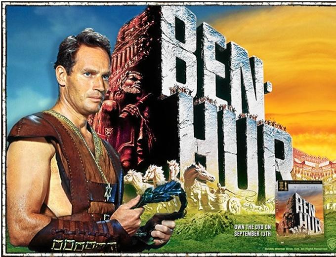 Cuando el actor de 'Ben-Hur' Charlton Heston visitó Huelva en ...