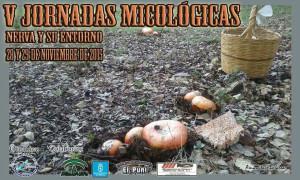 Cartel de las Jornadas Micológicas de Nerva.