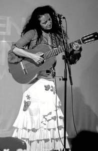 La onubense prepara el lanzamiento de su nuevo disco, 'Fandango'.