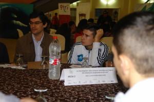 Una de las mesas participativas.