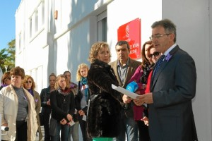 Manifiesto en la Universidad de Huelva.