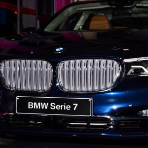 Proporciones dinámicas, líneas precisas y superficies únicas son las señas de identidad del diseño del BMW Serie 7,/ Foto: Pablo Sayago.