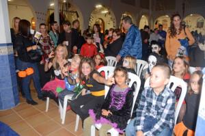 Los niños disfrutaron de la fiesta.