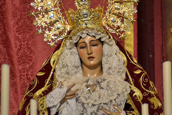 María Santísima de la Amargura, titular de la Hermandad del Nazareno