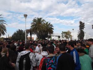 Fiesta solidaria del Caruh celebrada en 2013.