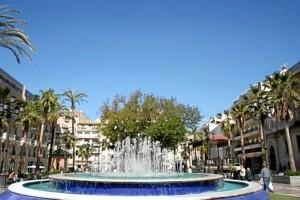 La Plaza de las Monjas de Huelva.