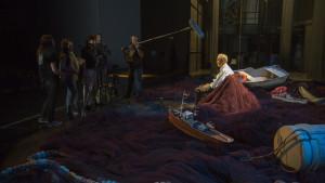 Escena del rodaje de 'Islamar Tercero'.