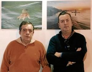 Lolo Concepcion y Javier Chalé.