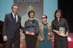 Cristóbal Martínez, Inés Torralba, Isabel Viruet y Soledad Galán. / Foto: Millán Herce.
