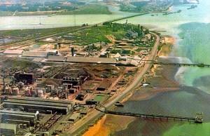 Polo Industrial de Huelva. / Foto. IAPH.