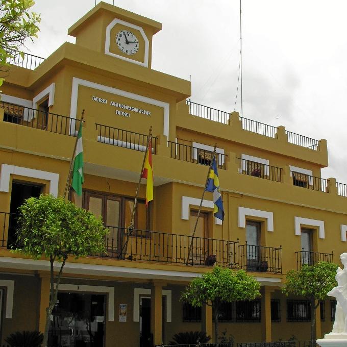 Fachada del Ayuntamiento de Aljaraque.