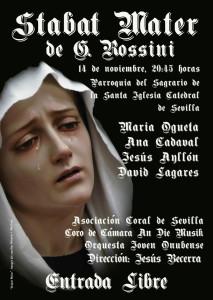 El concierto se celebrará el próximo sábado 14 de noviembre en Sevilla.