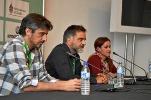 Presentación de `En la gama de los grises´. Foto: Pablo Sayago.