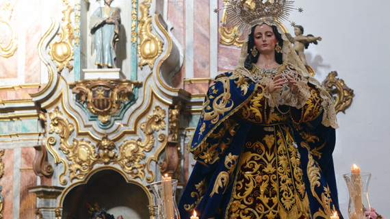 Cultos en la Hermandad de la Purísima Concepción previos a su salida procesional