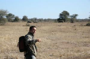 José María ha estado varias veces en África.