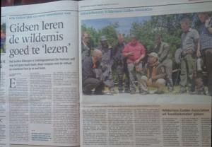 Un periódico de Holanda se hizo eco de las clases de Galán impartidas en el país europeo.