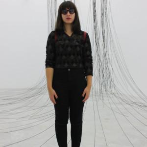 María Alcaide, graduada en Bellas Artes y estudiante de Investigación en Arte y Diseño.
