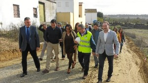 El delegado ha estado en Villalba del Alcor.