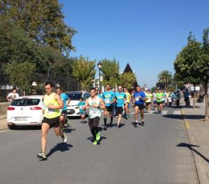 La carrera solidaria tuvo lugar el 7 de noviembre en Moguer.