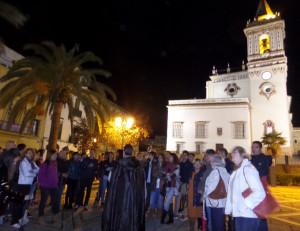 En la Plaza de San Pedro.