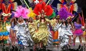 Reina del Carnaval del pasado año. /Foto: Canal Costa TV.