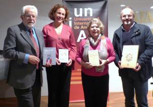 Presentación de las publicaciones de la Unia en el Salón del Libro Iberoamericano.