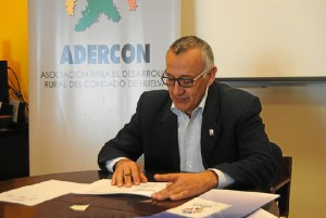 Juan Antonio García, presiente de Adercón.