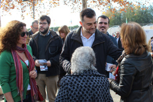 Antono Maillo ha visitado Aracena.