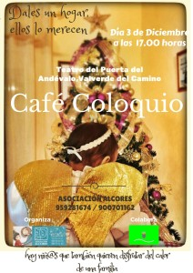 El día 3 de diciembre se celebrará una charla coloquio en Valverde del Camino.