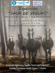 Cartel de la exposición 'Saca de yeguas'.