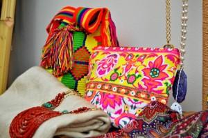 Su dueña importa productos desde Colombia, México, La India y Turquía, entre otros países. / Foto: Pablo Sayago.
