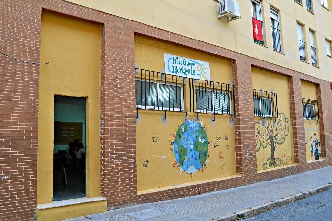 'Un Nuevo Horizonte para mi Barrio' se corresponde con la obra social de los Maristas.