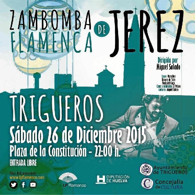 Trigueros organiza una 'Zambomba navideña de Jerez'