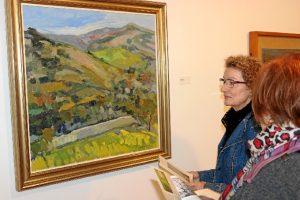 La muestra reúne una treintena de piezas de distintos autores andaluces en torno a la temática del paisaje.