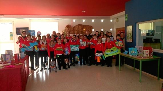 Campaña de recogida de juguetes en el Colegio Molière de Huelva