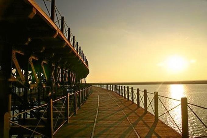 Imagen del Muelle de Río Tinto.