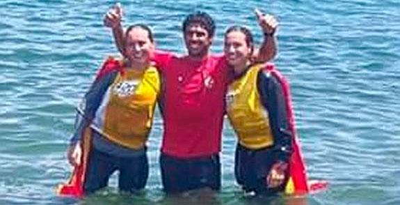 Marta Garrido y María Jesús Dávila regresan a una competición tras el Mundial.