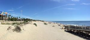 Rodeado por las magníficas playas de Huelva.