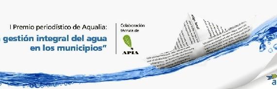 Aqualia convoca la primera edición de su premio periodístico sobre 'La gestión del agua en los municipios'