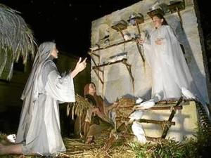 Higuera vive intensamente la Navidad.