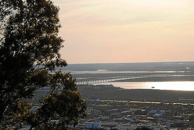 Vista desde El Conquero de Huelva.