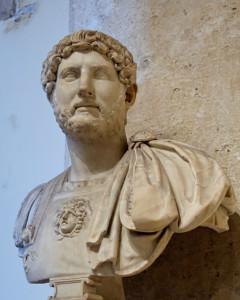 Adriano, sucesor y sobrino de Trajano.
