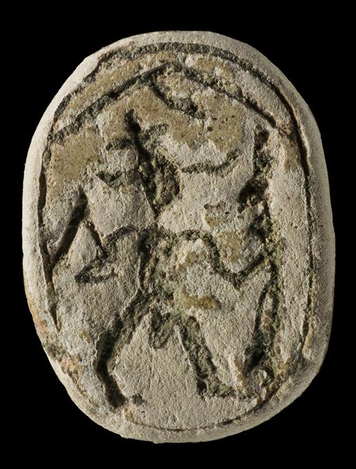 Escarabeo egipcio/fenicio de Ayamonte - Diario 'Huelva Buenas noticias' - Museo de Huelva