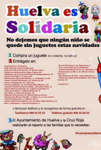 Cartel de la campaña Huelva es solidaria.