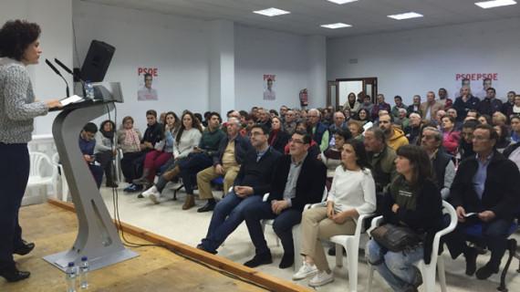 El PSOE pide el voto en San Bartolomé de la Torre