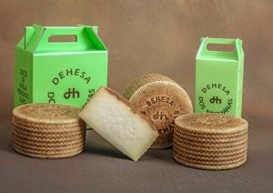 Imagen de los queso onubenses premiados.