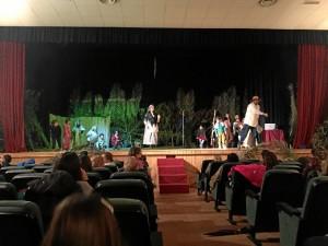 El taller de teatro consistía en la preparación de un casting.