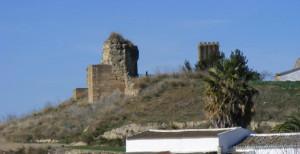 La muralla que envolvía el antiguo centro metalúrgico de Tejada. / Foto: Ayuntamiento de Escacena del Campo.