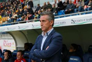 Alejandro Ceballos, entrenador del Recreativo de Huelva.